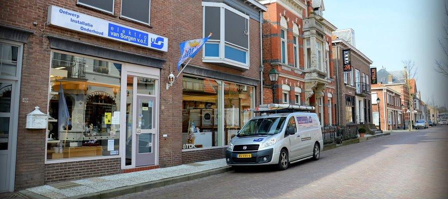 Elektro van Sorgen winkel